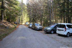Départ Randonnée Mont Colombier Parking Praz Gelaz, Massif des Bauges