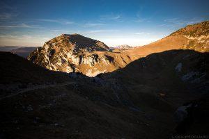 La Dent de Rossanaz depuis le Col du Colombier, Massif des Bauges Savoie © L'Oeil d'Édouard