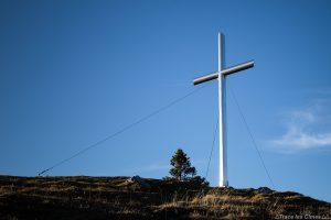 La Croix de Rossanaz, Mont Colombier, Massif des Bauges Savoie