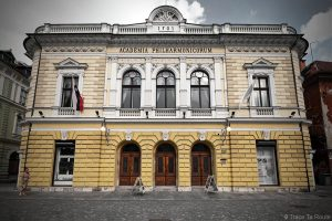 Bâtiment de la Philharmonie de Ljubljana, Slovenska filharmonija - Parc Zvezda, Kongresni Trg, Slovénie