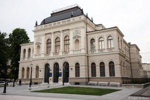Le Musée d'Art Moderne Moderna galerija Ljubljana, Slovénie