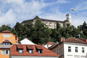 Château Ljubljana Grad, Slovénie