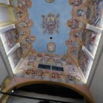 Fresque Plafond Chapelle Saint-Georges Château Ljubljana Grad, Slovénie