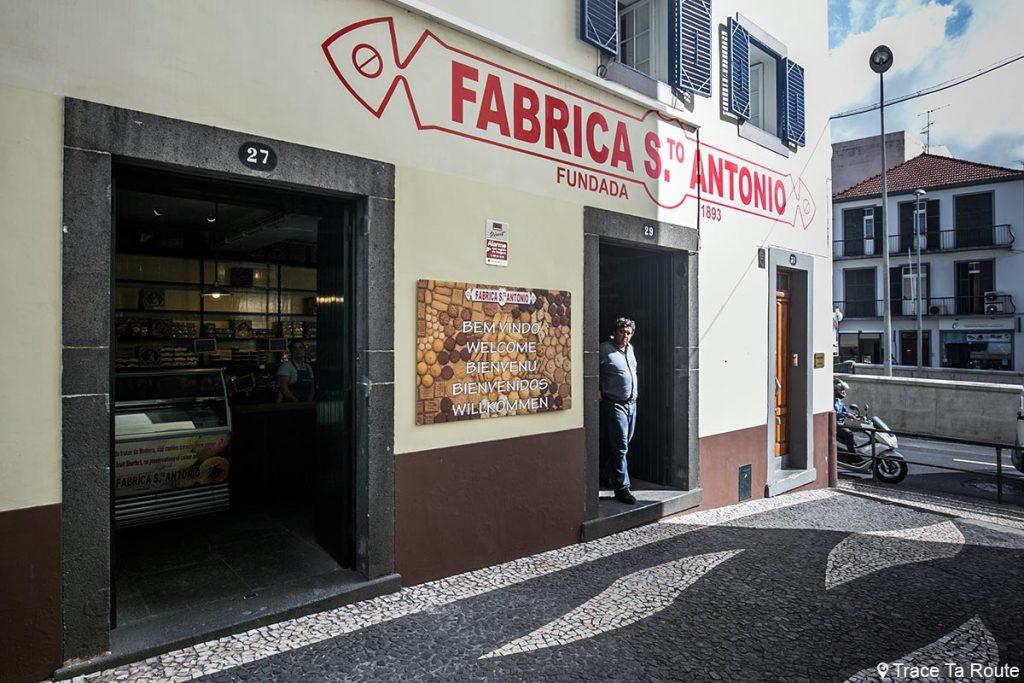 Patisserie traditionnelle Fabrica Santo Antonio - Travessa do Forno, Funchal, Madère