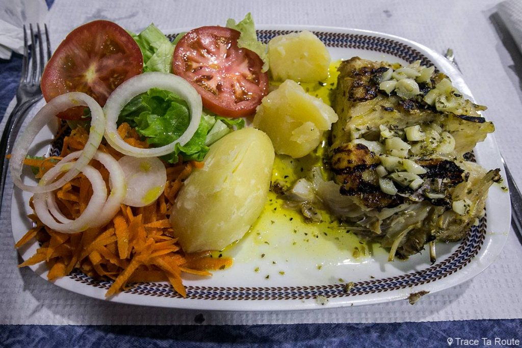 Plat de morue Restaurant Sirius - Rua das Hortas, Zona Velha, Funchal, Madère