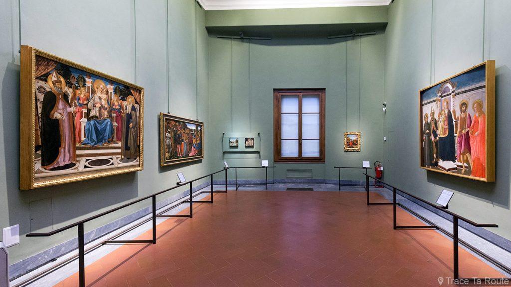 Salle 26 du Musée de la Galerie des Offices de Florence (Galleria degli Uffizi di Firenze) : Cosimo Rosselli