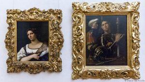 Salle des Peintures de portraits de GIORGIONE - Musée de la Galerie des Offices de Florence (Galleria degli Uffizi di Firenze)