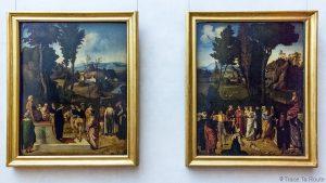 Salle des Peintures de GIORGIONE - Musée de la Galerie des Offices de Florence (Galleria degli Uffizi di Firenze)