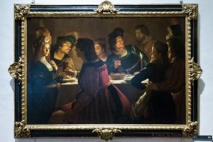 Repas de mariage (1613-1614) Gherardo DELLE NOTTI - Musée de la Galerie des Offices de Florence (Galleria degli Uffizi di Firenze)