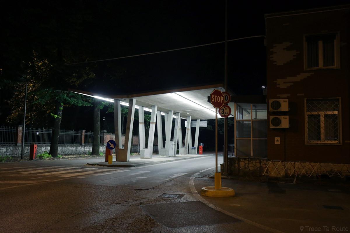 Poste de frontière Italie - Slovénie à Gorizia - Nova Gorica