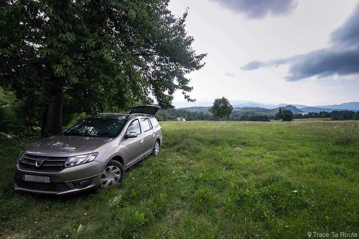 Dacia Logan MCV break - Road Trip en Slovénie, Postojna - Predjama