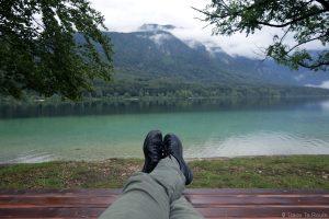 Voyage en Slovénie, Lac de Bohinj - BBohinj Lake, Slovenia / Ribčev Laz, Bohinjsko jezero, Slovenija