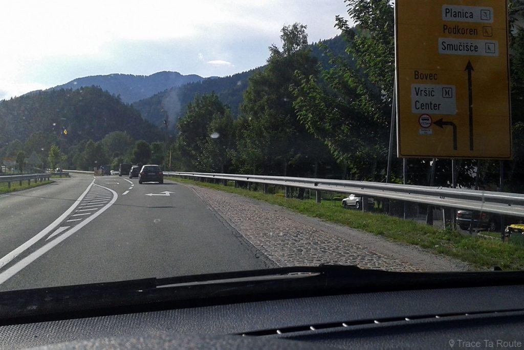 Route vers le Col de Vršič et Bovec - Voyage Road Trip en Slovénie, Slovenia