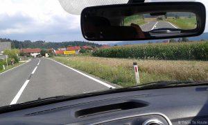 Paysage route road trip Sovénie voyage Slovenia travel Slovenija