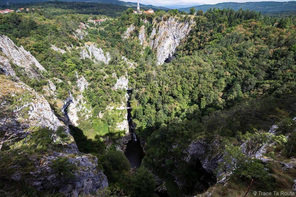 Gouffre des Grottes de Škocjan en Slovénie - Škocjanske jame - Škocjan caves in Slovenia