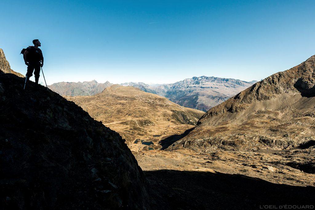 Randonnée au Taillefer, itinéraire montée par le Lac Fourchu et la combe de la face Nord
