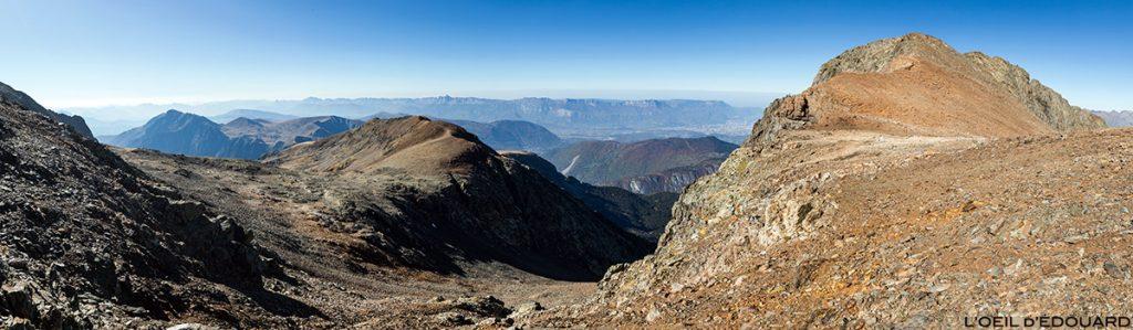 Le Col du Grand Van, le Petit Taillefer, l'Arête de Brouffier et le Vercors