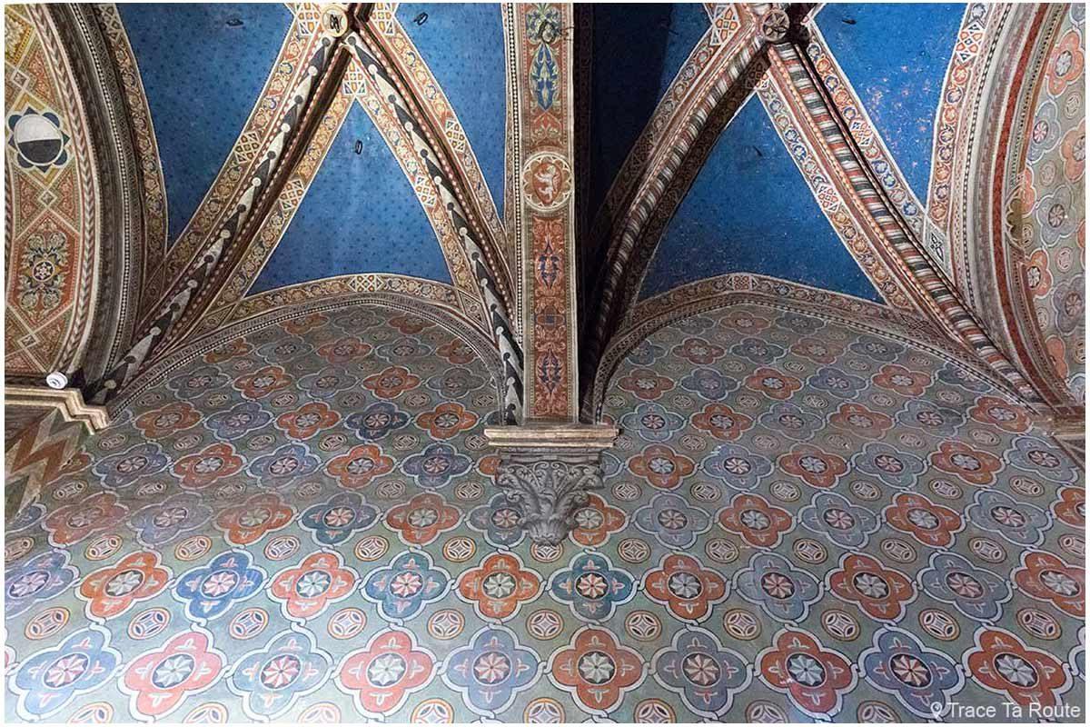 Vestibule du Museo Civico de Sienne - Vestibolo di Palazzo Pubblico di Siena