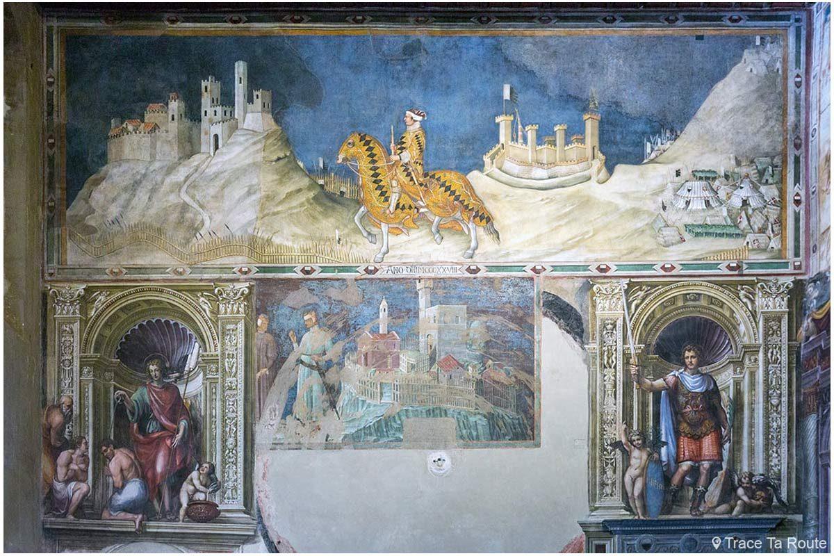 """Fresque """"Guidoriccio da Fogliano au siège de Montemassi"""