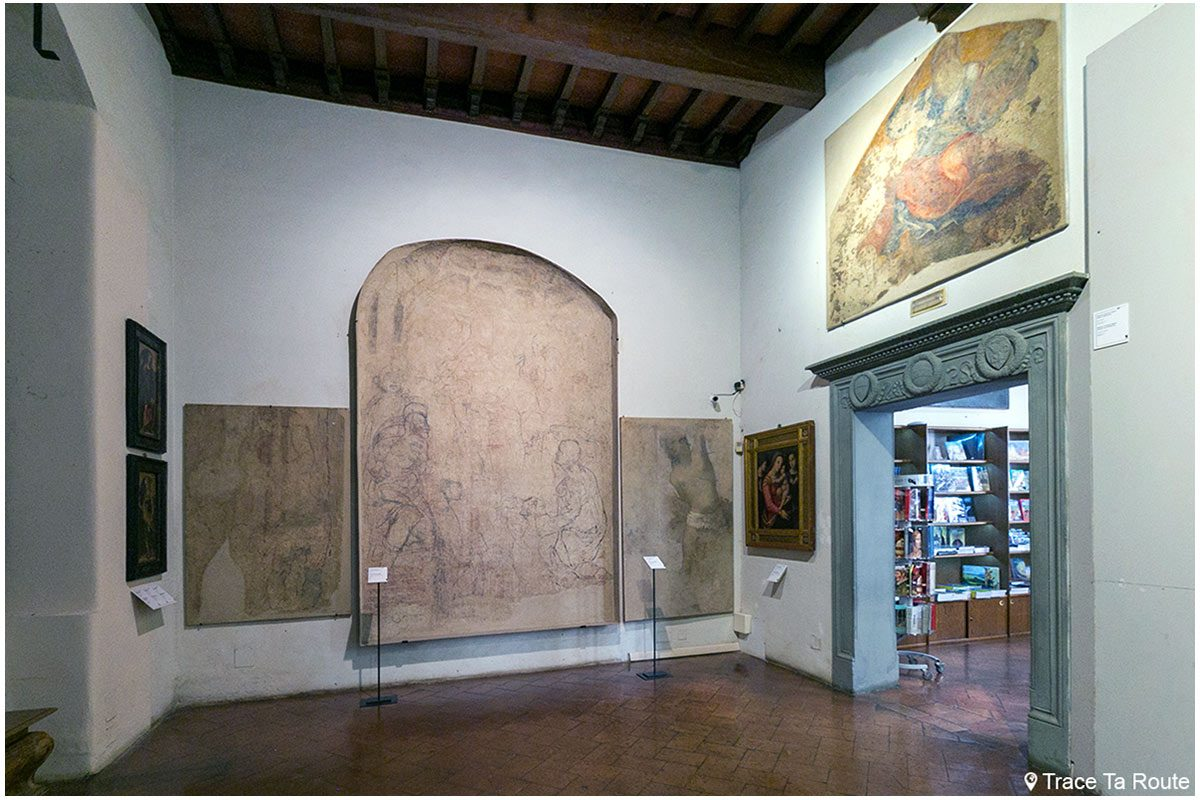 Visite du Museo Civico de Sienne - Quadreria di Palazzo Pubblico di Siena