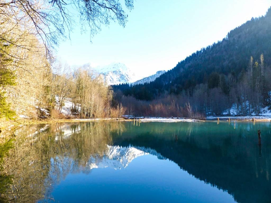 Lac du Vallon en Haute-Savoie