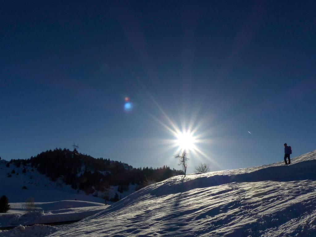 Stage survie en hiver dans les Alpes