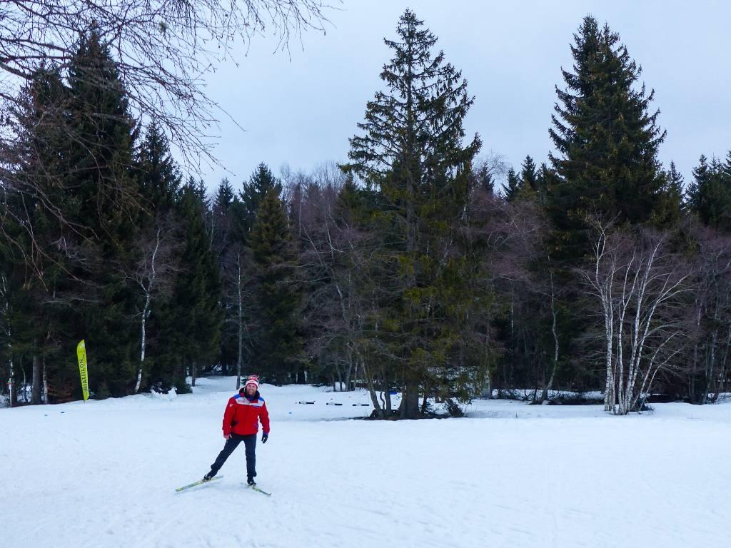 initiation au biathlon dans les Alpes - Haute-Savoie