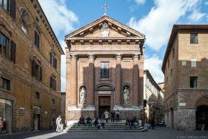 Visite de Sienne : église chiesa di San Cristoforo, Siena