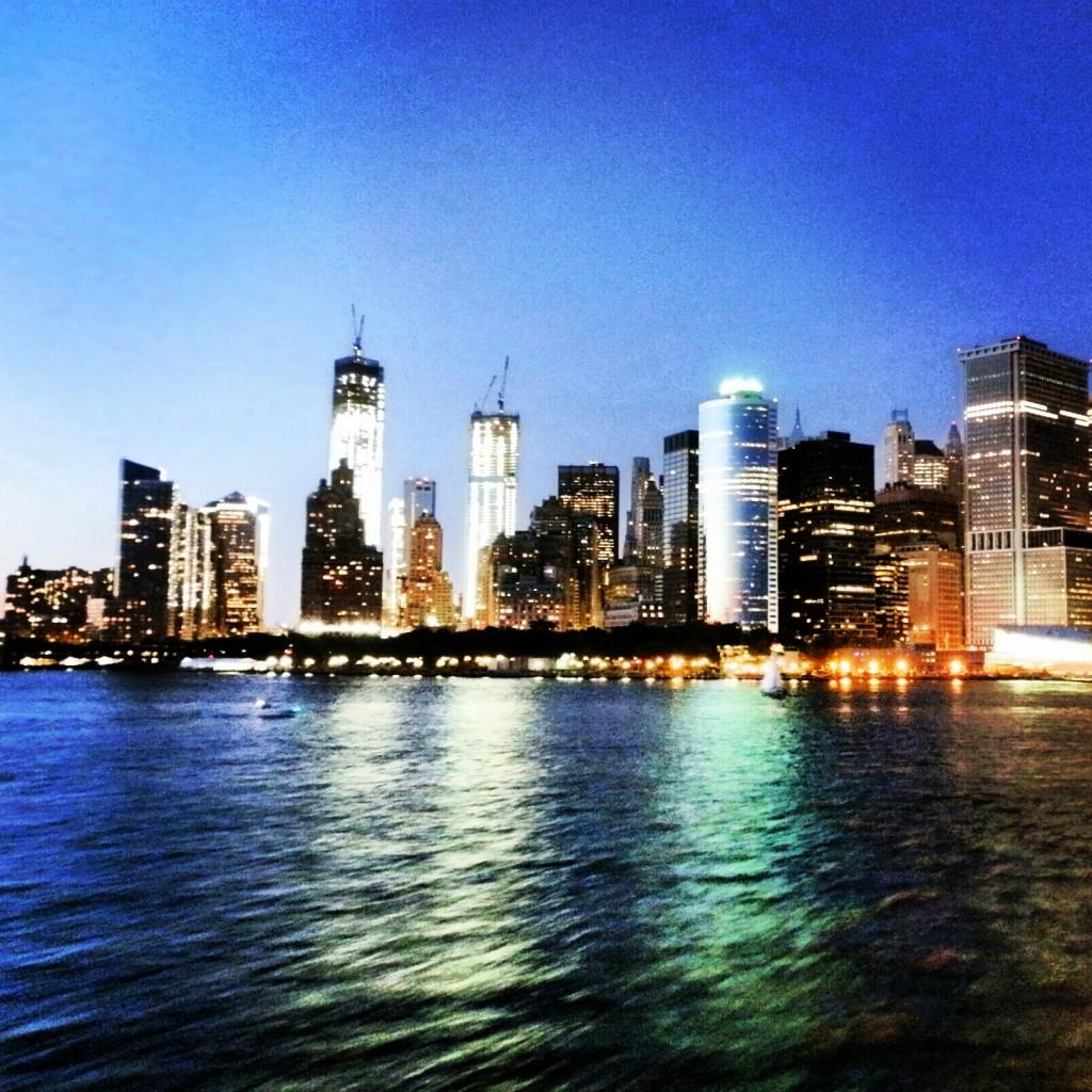 La nuit tombe sur Manhattan, New York, Etats-Unis, blog voyage Trace ta route