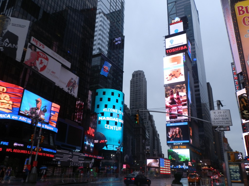 Time Square - Manhattan - New York - trace ta route, le blog des voyages à vivre et à lire