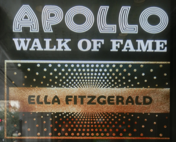 Apollo Theatre, Ella Fitzgerald, Harlem, New-York