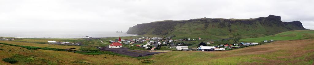 Ville de Vík í Mýrdal, Islande
