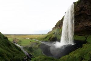 Cascade Seljalandsfoss, Islande