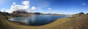 Lac Frostastadavatn vers Landmannalaugar (Islande)