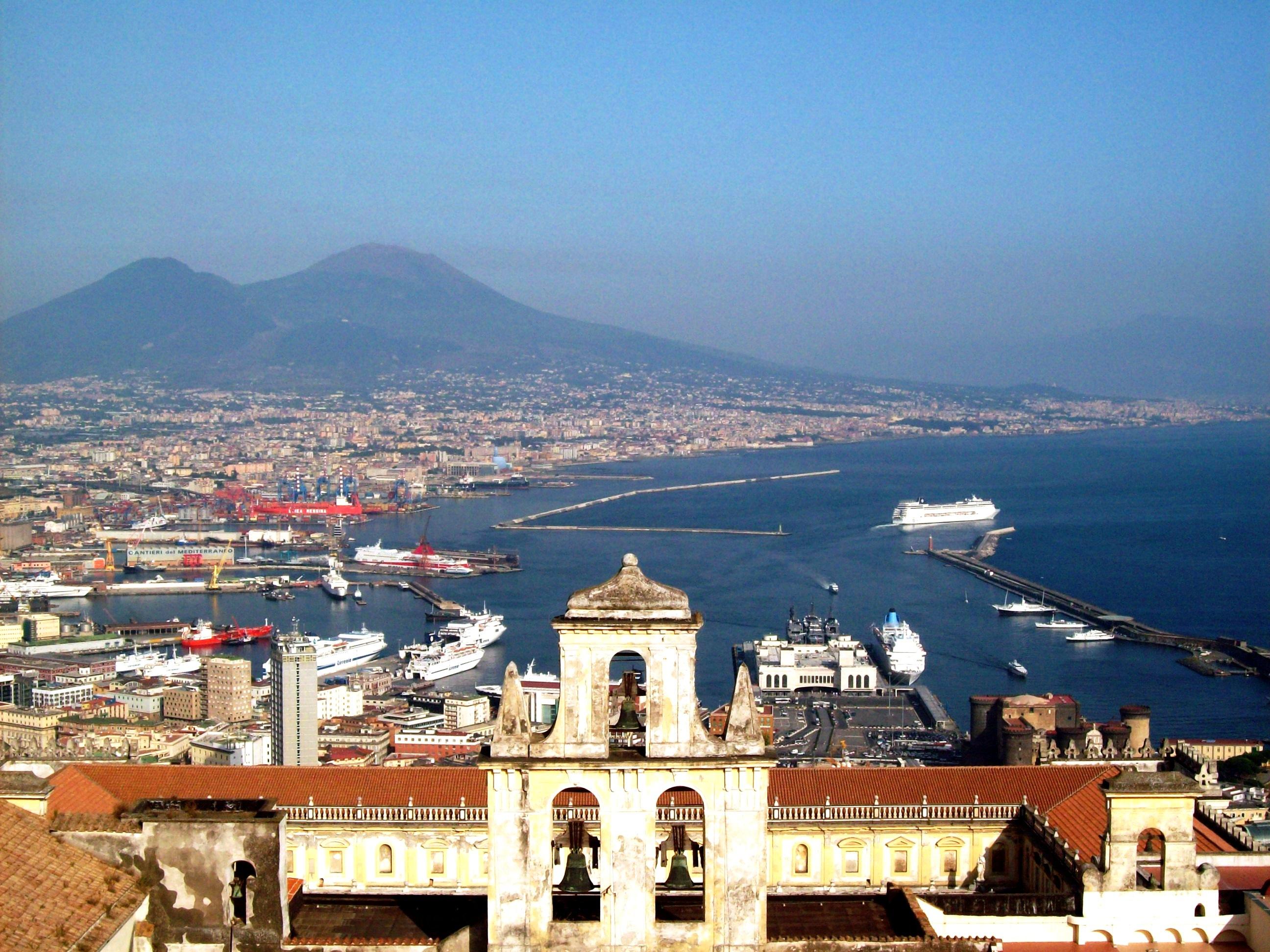 Naples Vésuve