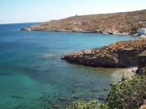 Plage et mer dans les Cyclades