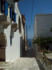 Village blanc dans les Cyclades - Blog voages