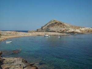 Plage à TInos - Cyclades