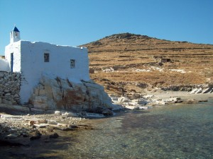 Chapelle grecque - TInos - blog voyages