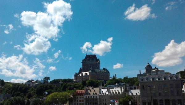 Château de Frontenac, Québec, canada - Blog voyage Trace Ta Route