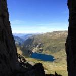 Lac de la Gittaz, depuis Le Roc du Vent