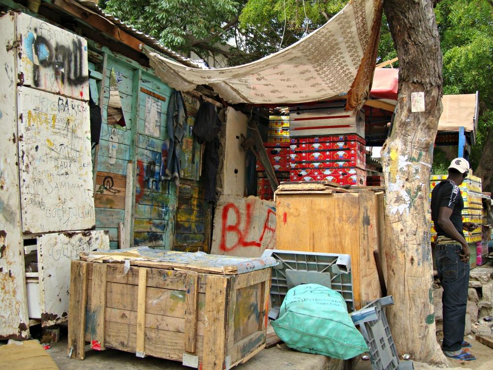 Atelier d'artistes Soweto Dakar Sénégal Afrique
