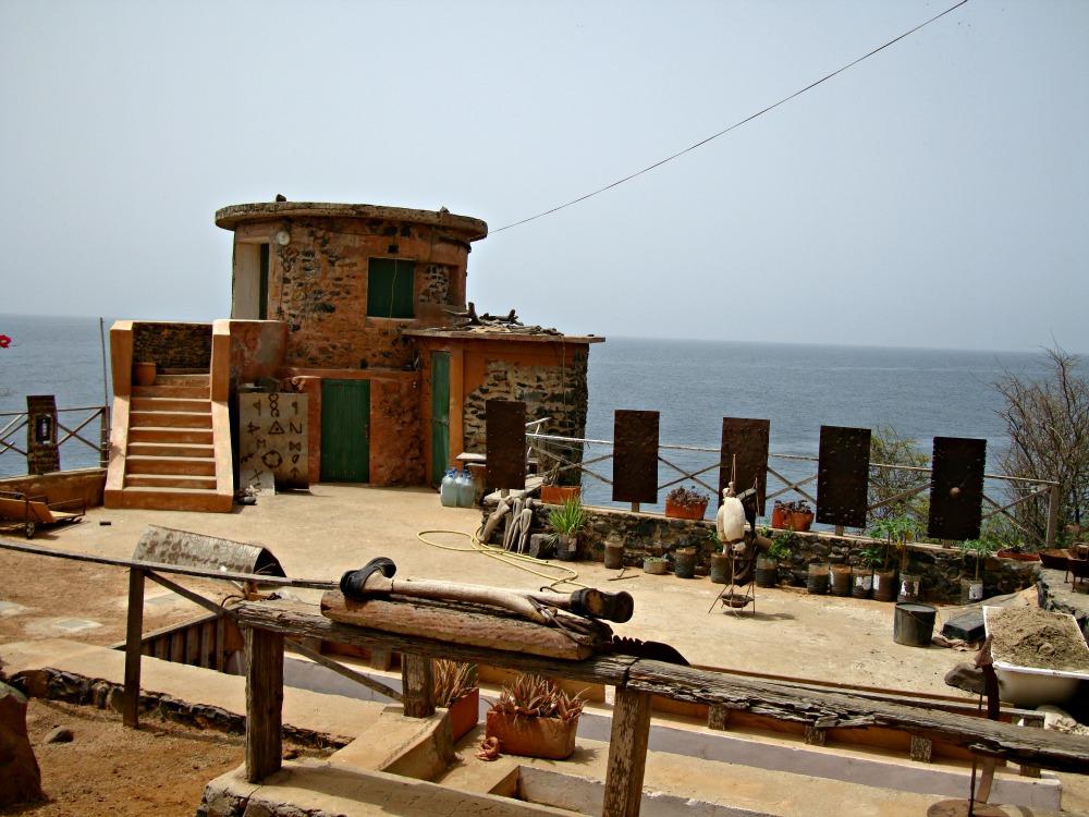 Atelier d'artiste Île de Gorée Sénégal Afrique