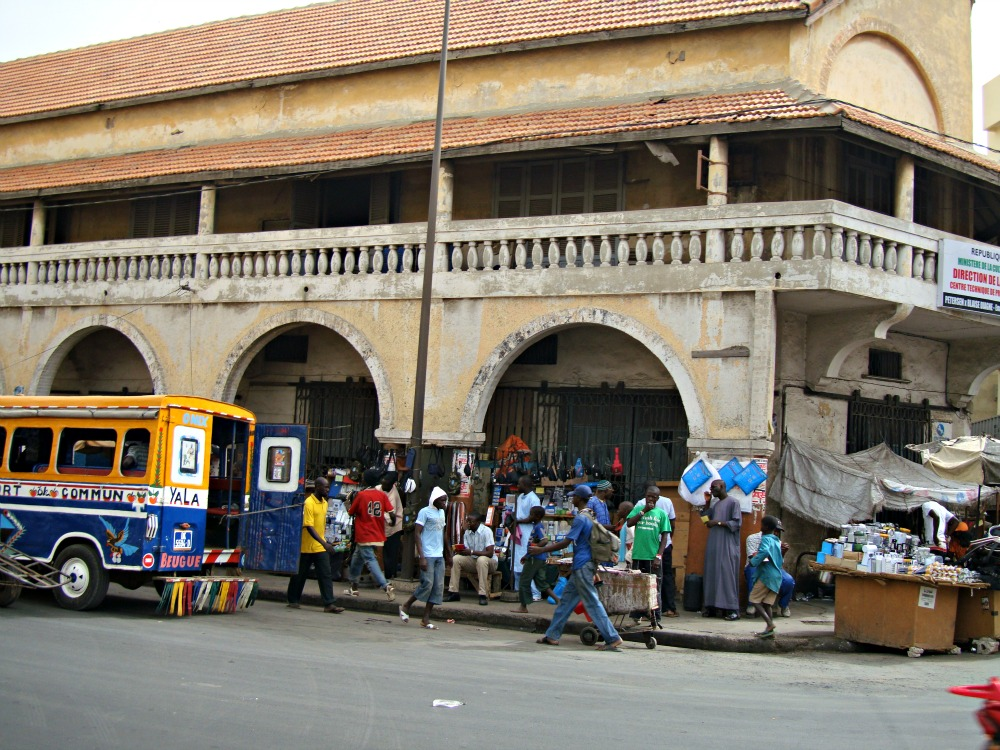 Avenue Blaise Diagne Soweto Dakar Sénégal Afrique
