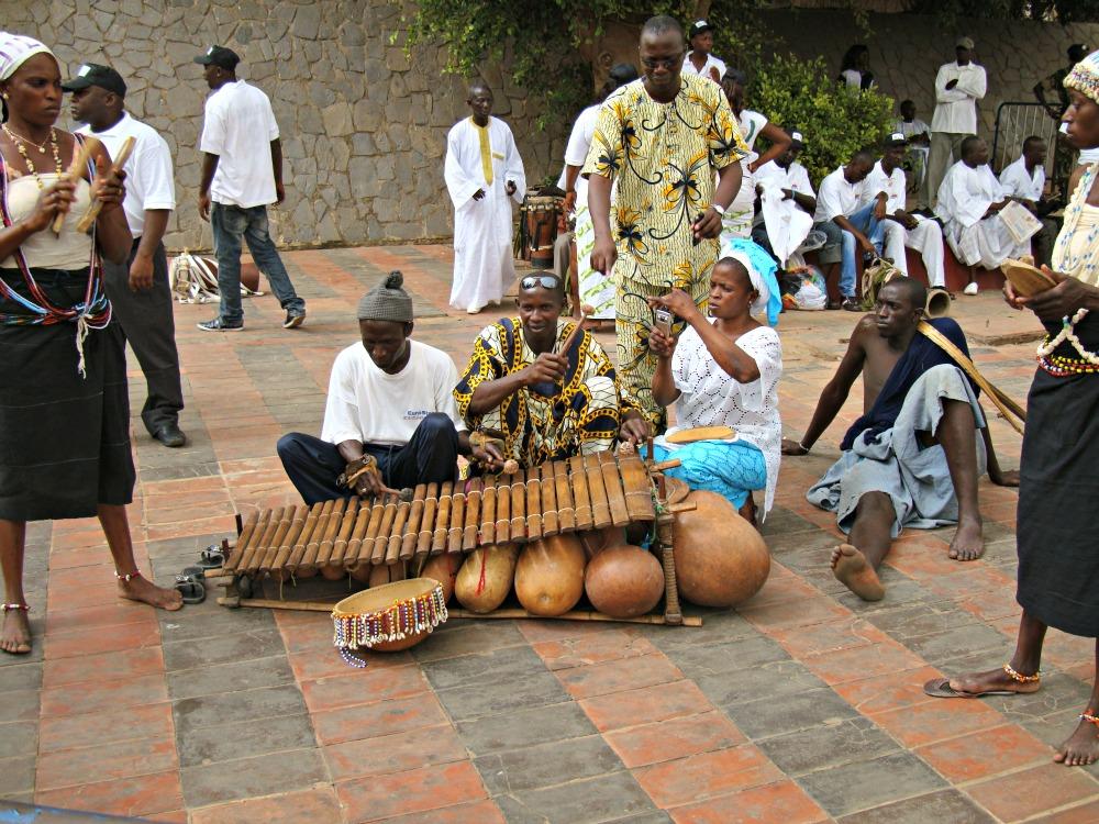 Balafon à Dakar, Sénégal Afrique