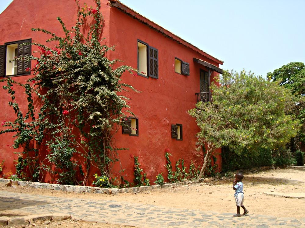 Promenade Île de Gorée Sénégal Afrique