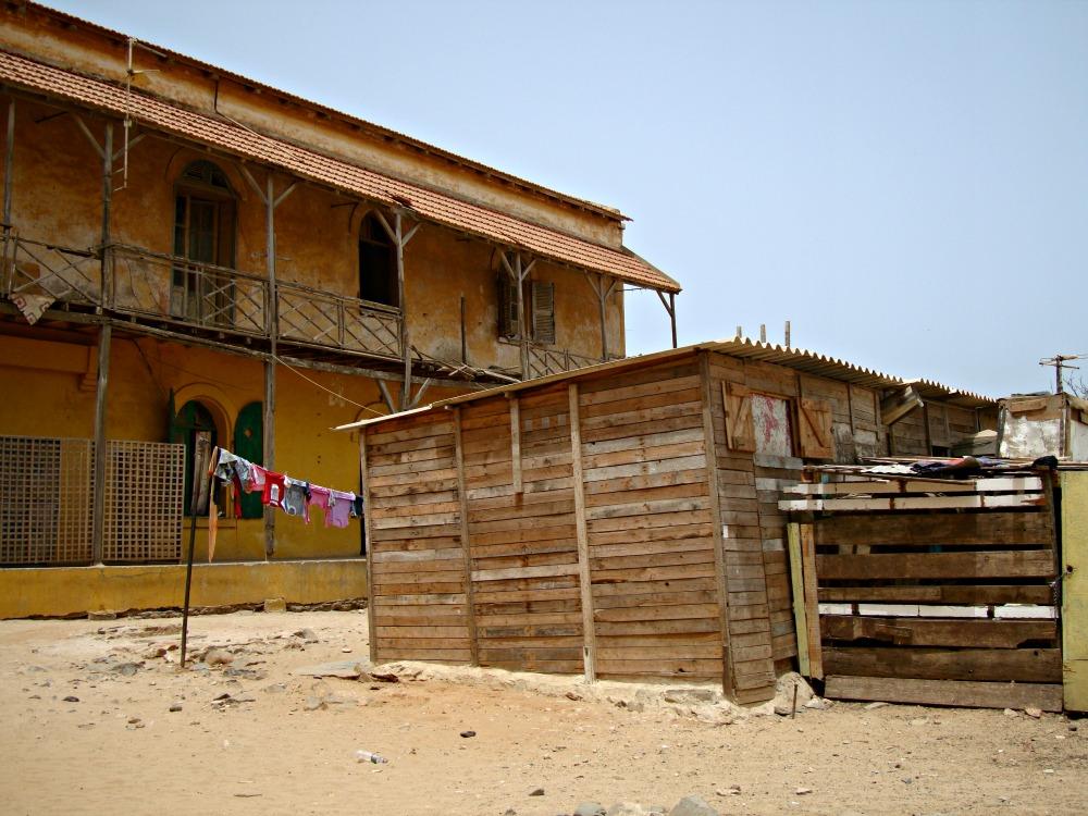 Maison Île de Gorée Sénégal Afrique
