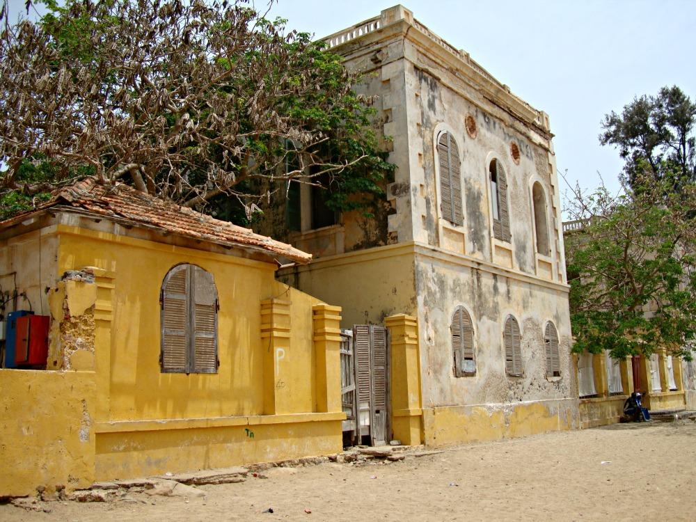 Maison Baobab Île de Gorée Sénégal Afrique