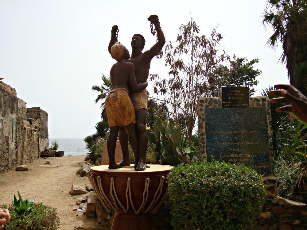 Monument de la Libération Île de Gorée Sénégal Afrique