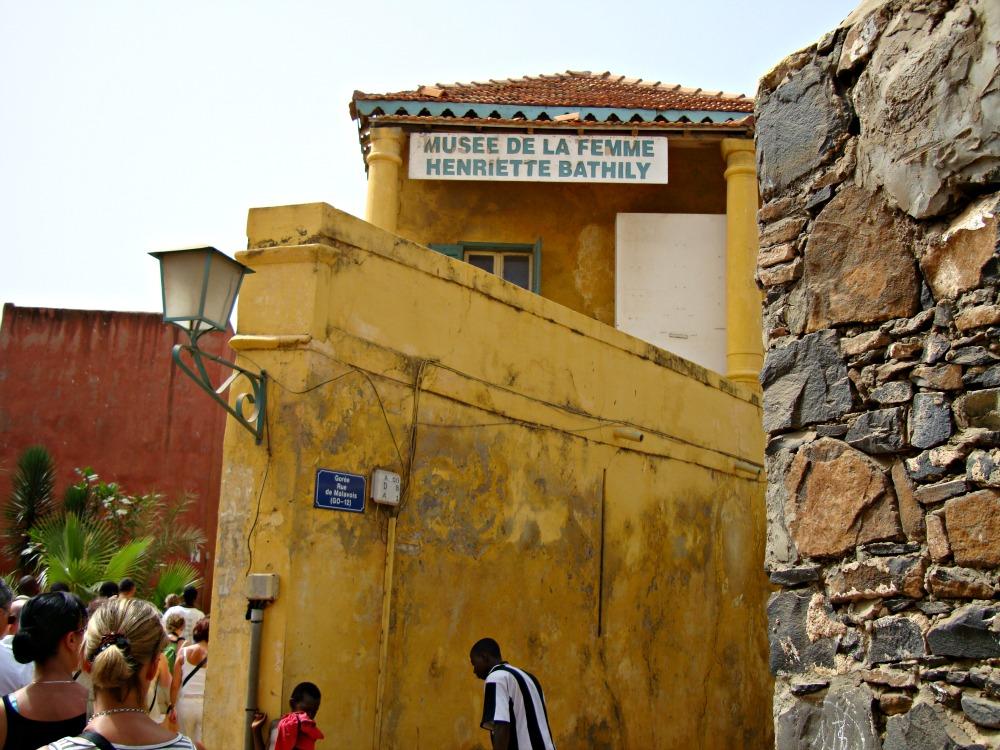 Musée de la Femme île de Gorée Sénégal Afrique